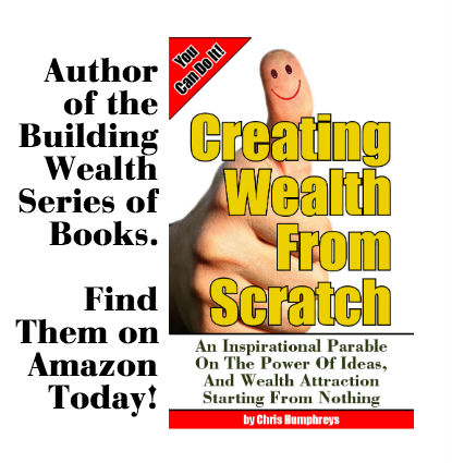Creating Wealth From Scratch http://www.amazon.com/dp/B00E6HR2LS This book will inspire you to take action. Get it today!